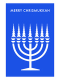Merry Chrisnukkah  Menorah