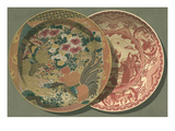 Two Painted Chinese Plates