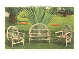 Bent-Wood Lawn Furniture