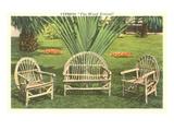 Bent-Wood Lawn Furniture