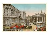 Bank of England  Royal Exchange  London