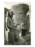 Statue of Ramses II  Luxor  Egypt