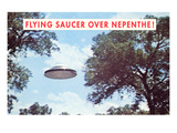 Flying Saucer over Nepenthe  California