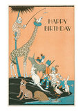 Happy Birthday  Marooned Circus