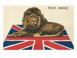Wide Awake British Lion on Union Jack