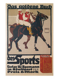 Ad for Golden Book of Sports  Polo
