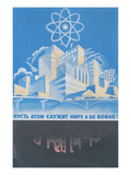 Soviet Nuclear Power Poster