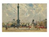 Trafalgar Square  National Gallery  London  England