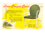 Lawn Comfort Chair Advetisement