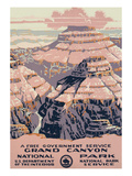 Grand Canyon National Park Travel Poster