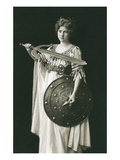 Wagnerian Warrior Heroine