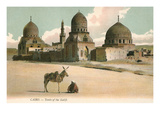 Tombs of the Khalifs  Cairo  Egypt