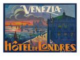 Hotel De Londres  Venice Italy