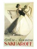 Sakharoff Dance Poster
