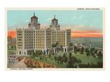 National Hotel  Havana  Cuba