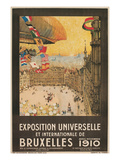 Poster for 1910 Brussells Exhibition