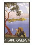 Lake Garda Travel Poster