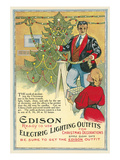 Edison Christmas Lights