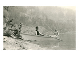 Old Folks Fishing in Boat