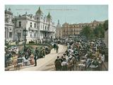 Vintage Monte Carlo Scene