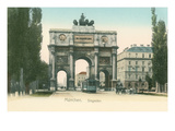 Victory Arch  Munich  Germany