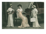 Young Girl Music Recital
