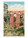 Gorge Bridge  Ronda  Spain