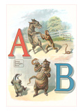 Alphabet Animals  A and B