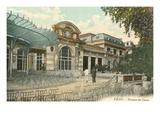 Art Nouveau Facade in Vichy  France