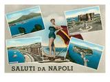 Saluti Da Napoli  Italy
