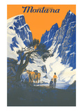 Travel Poster for Glacier Park