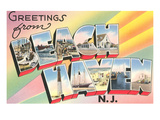 Greetings from Beach Haven  New Jersey