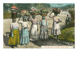British West Indies Market Day  Jamaica