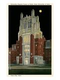 University Hospital Tower  Iowa City