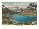 Many Glacier Region  Glacier Park  Montana