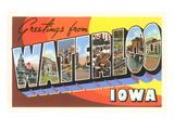 Greetings from Waterloo  Iowa