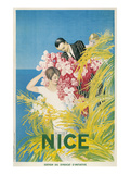 Travel Poster for Nice  France