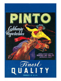 Pinto  Crate Label  Gaucho