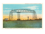 Aerial Bridge  Duluth  Minnesota