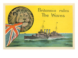 Britannia Rules the Waves  Battleship
