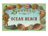 Souvenir from Ocean Beach  New Jersey