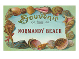 Souvenir from Normandy Beach  New Jersey