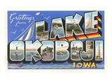 Greetings from Lake Okoboji  Iowa