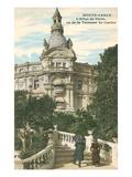 Hotel Du Paris  Monte Carlo  Monaco