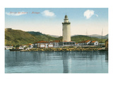Port Lighthouse  Malaga  Spain
