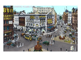 Piccadilly Circus  London  England