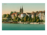 Basel  Switzerland from the Rhein