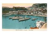 Harbor at Monte Carlo  Monaco