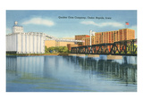 Quaker Oats Factory  Cedar Rapids  Iowa