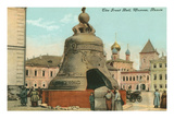 The Great Bell  Moscow  Russia